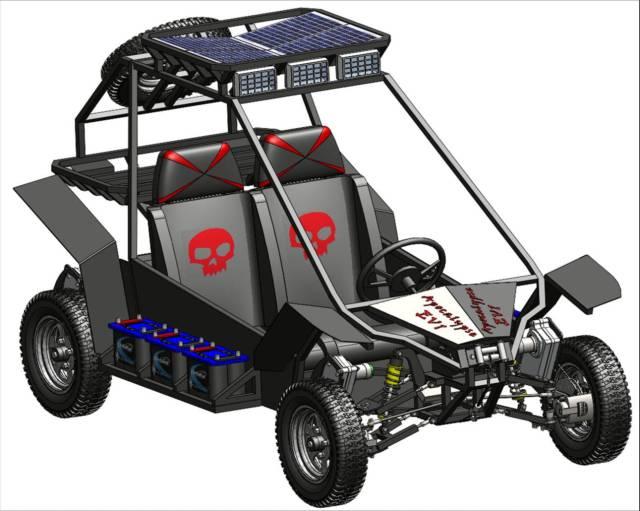 Apocalypse EV-1 Electric Car