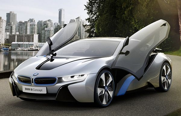 BMW i8 Concept Gullwing Doors